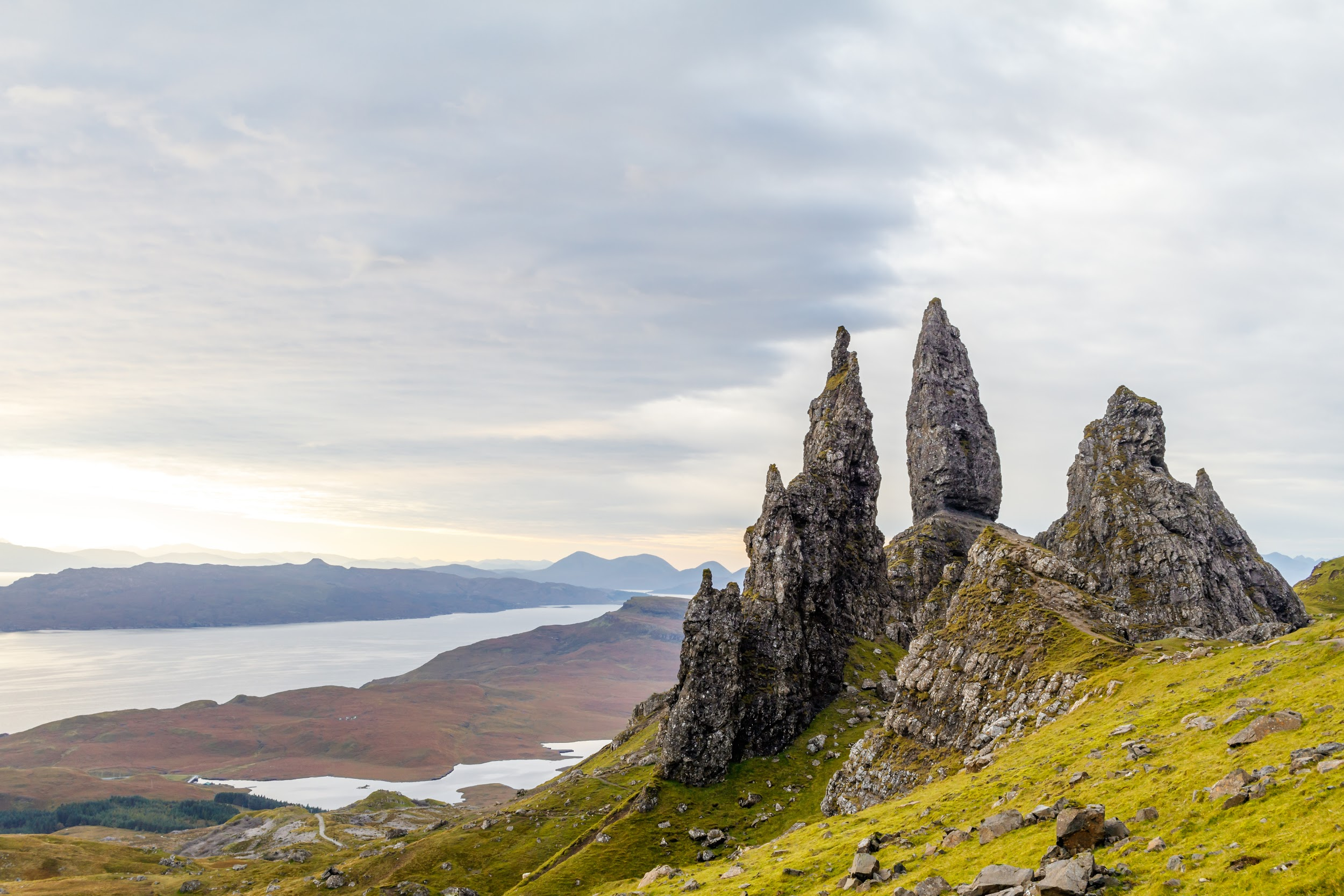 go hiking in scotland